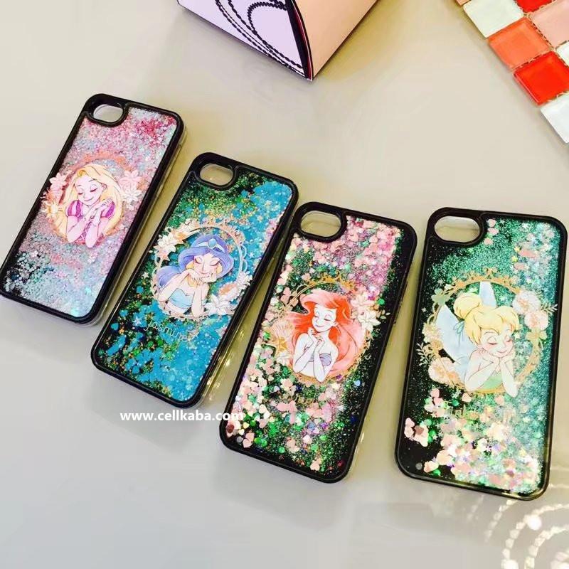 少女系ディズニースマホケース 可愛いガール適用 使いやすいiphone7s ケース 幻天使柄のDisneyアイフォン6splus保護カバー お揃いアイフォンカバー