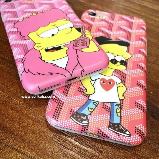 promo code 63bf0 1e2bd ザ・シンプソンズ The Simpsons キャラクター iPhone8ケース ...
