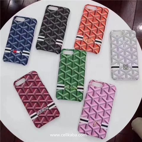 ゴヤール アイフォン8ケース 象徴的な杉綾模様のブランド iphone7splus ハードケース エレガント GOYARD iphone7 iphone8 ケースが人気登場した。七色揃い、男女問わず、大人気のスマホケースです。