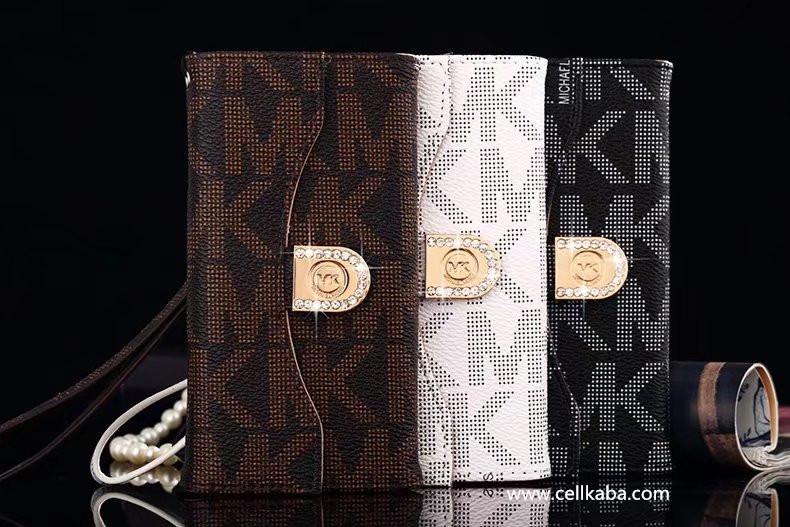 マイケルコースMK アイフォン8plus ギャラクシーノート8手帳型ケースはストラップ付きでカード入れでき、便利です。社会人男女ファッション、お洒落なブランドgalaxy s7エッジ携帯カバー、革製で衝撃が耐える!