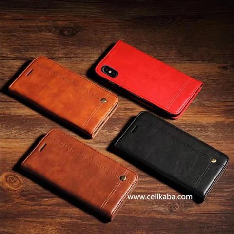シンプルなビジネス風 ORIGINAL iphoneX 手帳型ケース、定期券收纳 アイフォンケース。上品なレザーで作成から、耐久性と耐衝撃機能付き、大事なスマトーフォンが保護できます。