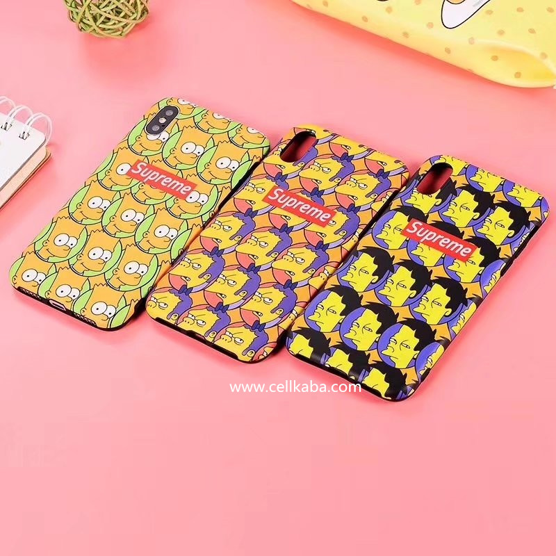 ブランドシュプリームアイフォンXケース、デザインが個性で、男女通用!放熱効果がよくて、手触りもステキ!芸能人愛用Supreme iphone8plusケース、シンプルで上質。