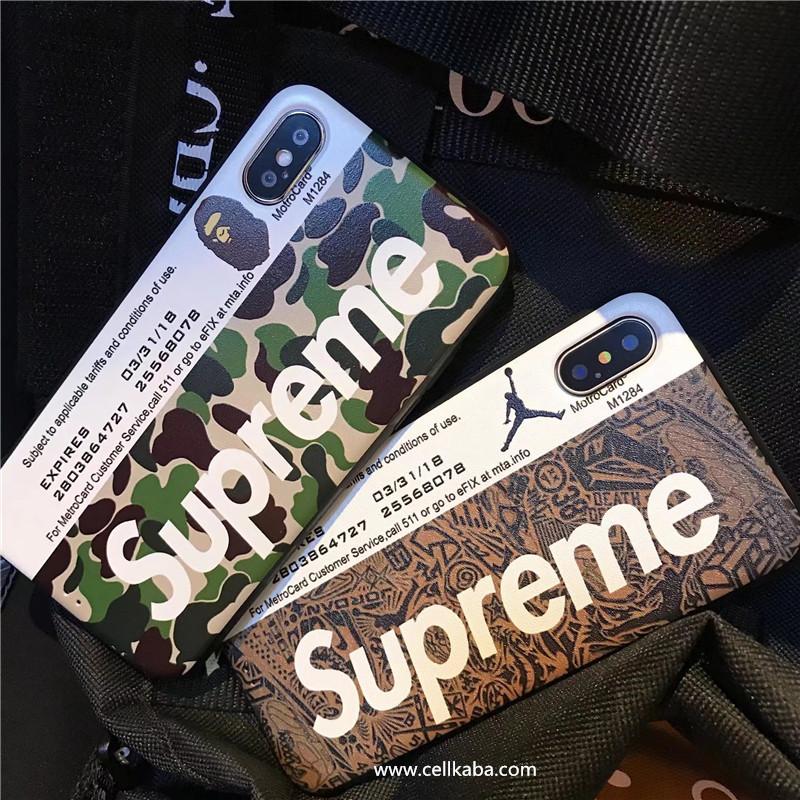ブラントシュプリームiPhone8 plusケースはメトロカードの設計を採用して、アメリカの新しいファッションのトレンド、iphoneXジャケットケース、シンプルでオシャレ、芸能人にも愛用、大人気、耐熱性能がよい、使い心地も最高!