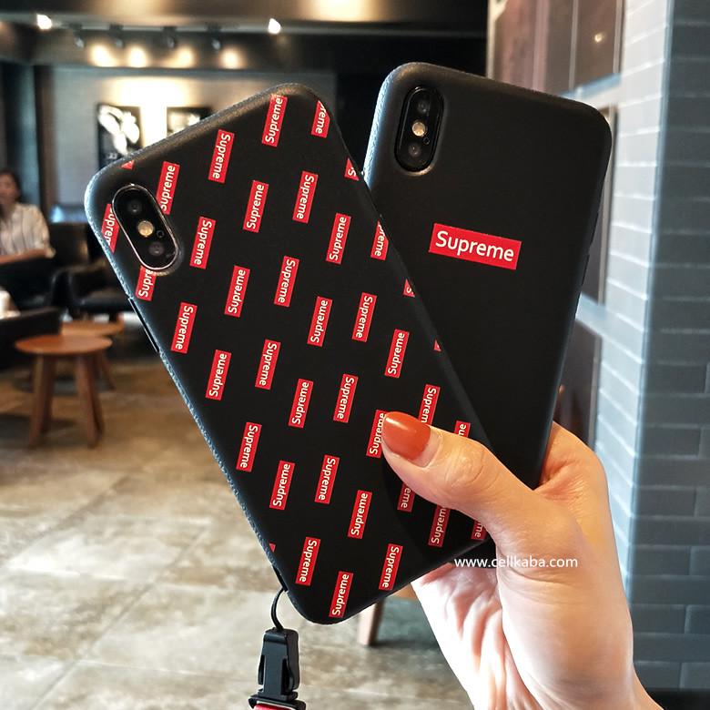 簡潔風 シュプリームアイフォンX ケース!男性女性にこだわらず、若者のファションブランドsupreme iphone 8カバー、アイフォン6s プラス ソフト素材 ケースはペア向けのファションブラントです、かっこいい!