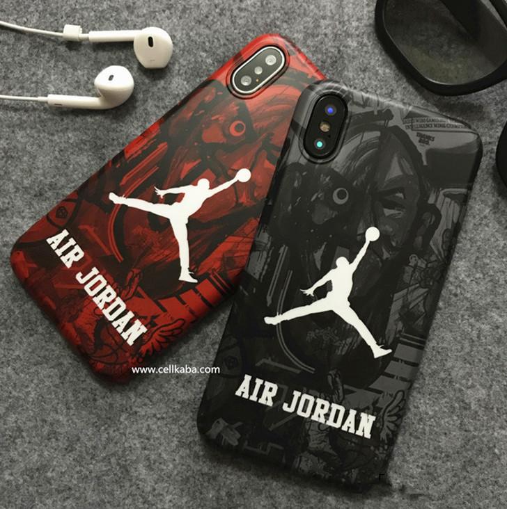 2b973ab707 ジョーダン iphone8 plusケース かっこいい iphone7カバー 耐衝撃 Air Jordan アイフォン6s プラス ストリート系 バスケ風  ソフトケース