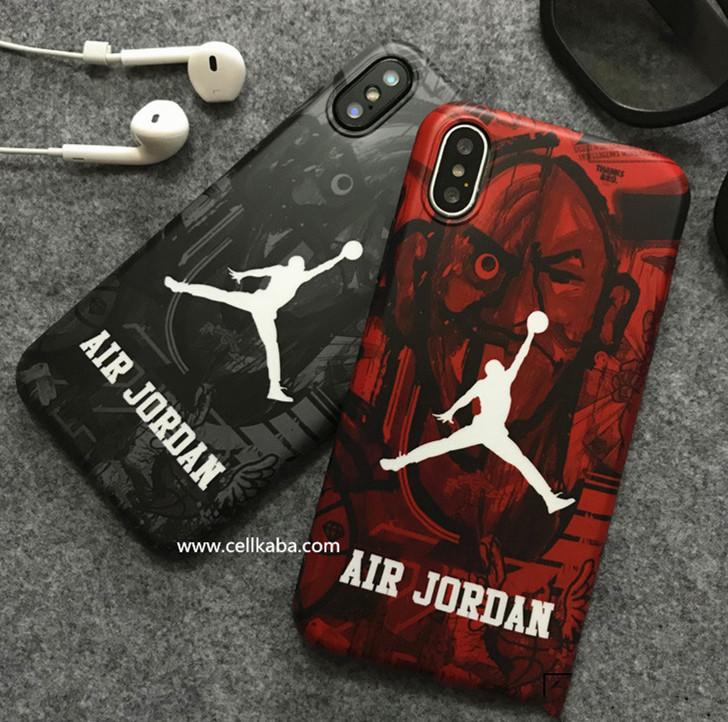 ジョーダン iphone8 plusケース かっこいい iphone7カバー 耐衝撃 Air Jordan アイフォン6s プラス ストリート系 バスケ風 ソフトケース