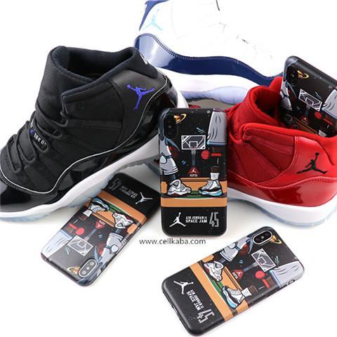 a7a91716dc ジョーダン 運動風 iphone8 plusケース かっこいい iphone7カバー 耐衝撃 Air Jordan アイフォン6s プラス バスケ風  ソフトケース 軽い 放熱