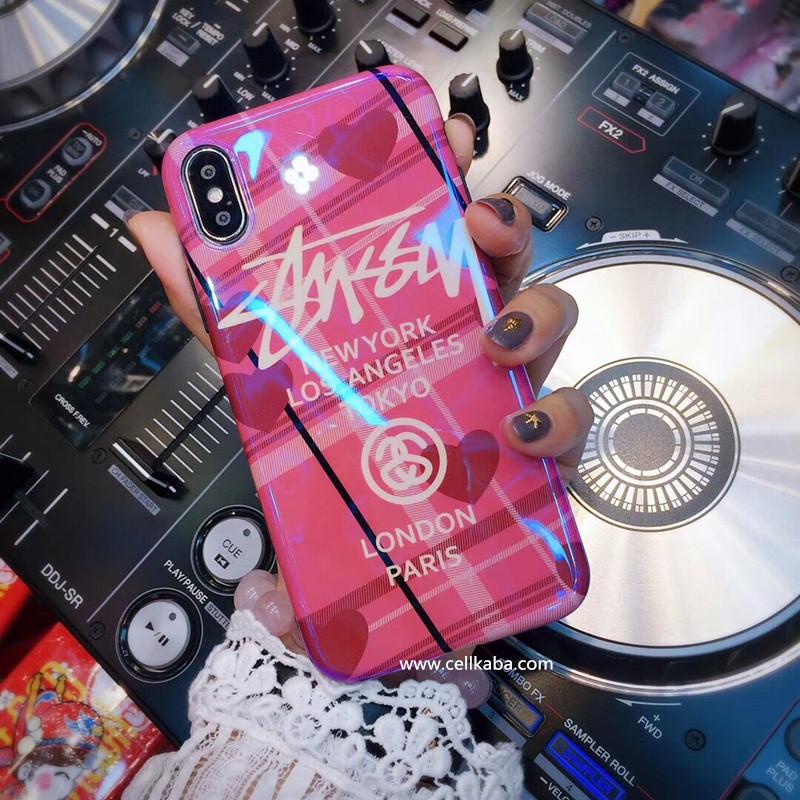 c38d58f67b ブランド Stussy iphoneXケース ステューシー アイフォン7 プラス ストリート風 iphone6カバー かっこいい フルカバー 耐衝撃