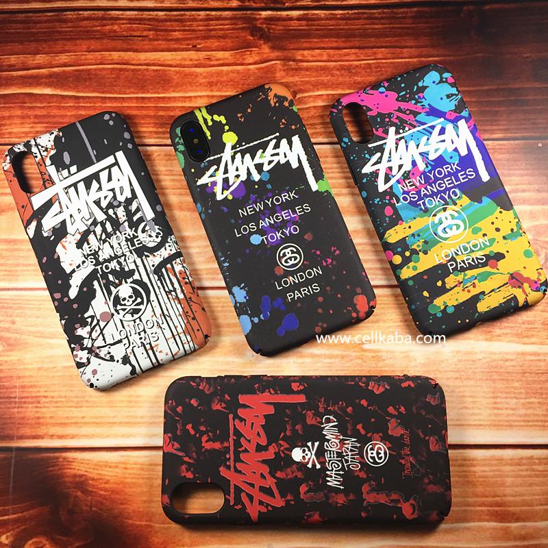 Supremeとアベイシングエイプのコラボ作iphoneXカバー、芸能人愛用、ペア向けのアイフォン8ケース、放熱機能がよくて、手触りもステキ、男女問わず大人気、耐衝撃、個性的なデザイン。