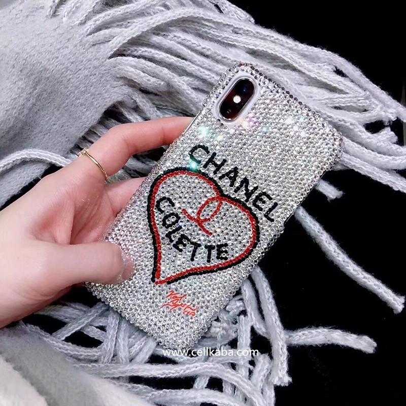 ブランドCHANELアイフォンテンケース、伝統職人が厳密で手作りしたのスマホケース、オリジナルなダイヤモンドデザインのiphone6s 携帯カバー、独特な工芸で、外見と光沢が抜群。