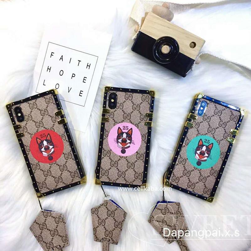 ブランドグッチiphone Xジャケットケース、カップル向けのブランド風 iphone7ケース、グッチiphone8 plusケース、耐衝撃で、使いやすい、放熱効果がよく、片手で操作できる軽型のアイフォンカバー、本当に魅力的な逸品!