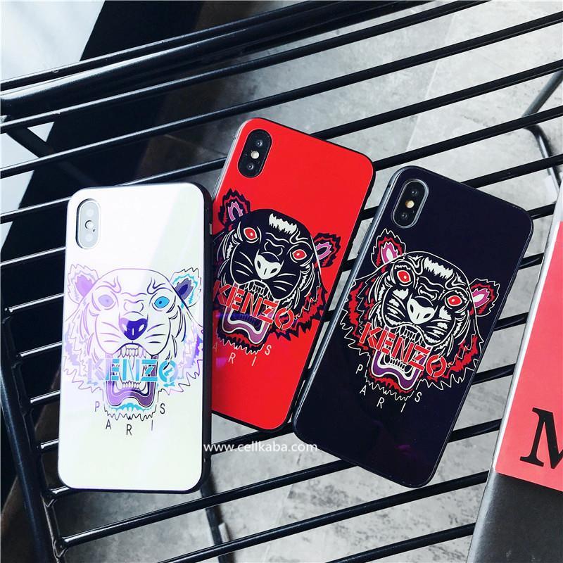 スタイリッシュ風ブランドケンゾーiphoneX iphone8 plus ジャケットケース、鏡面仕上げデザイン、放熱加工、男女向け、カップルにおすすめ!手触りが抜群!
