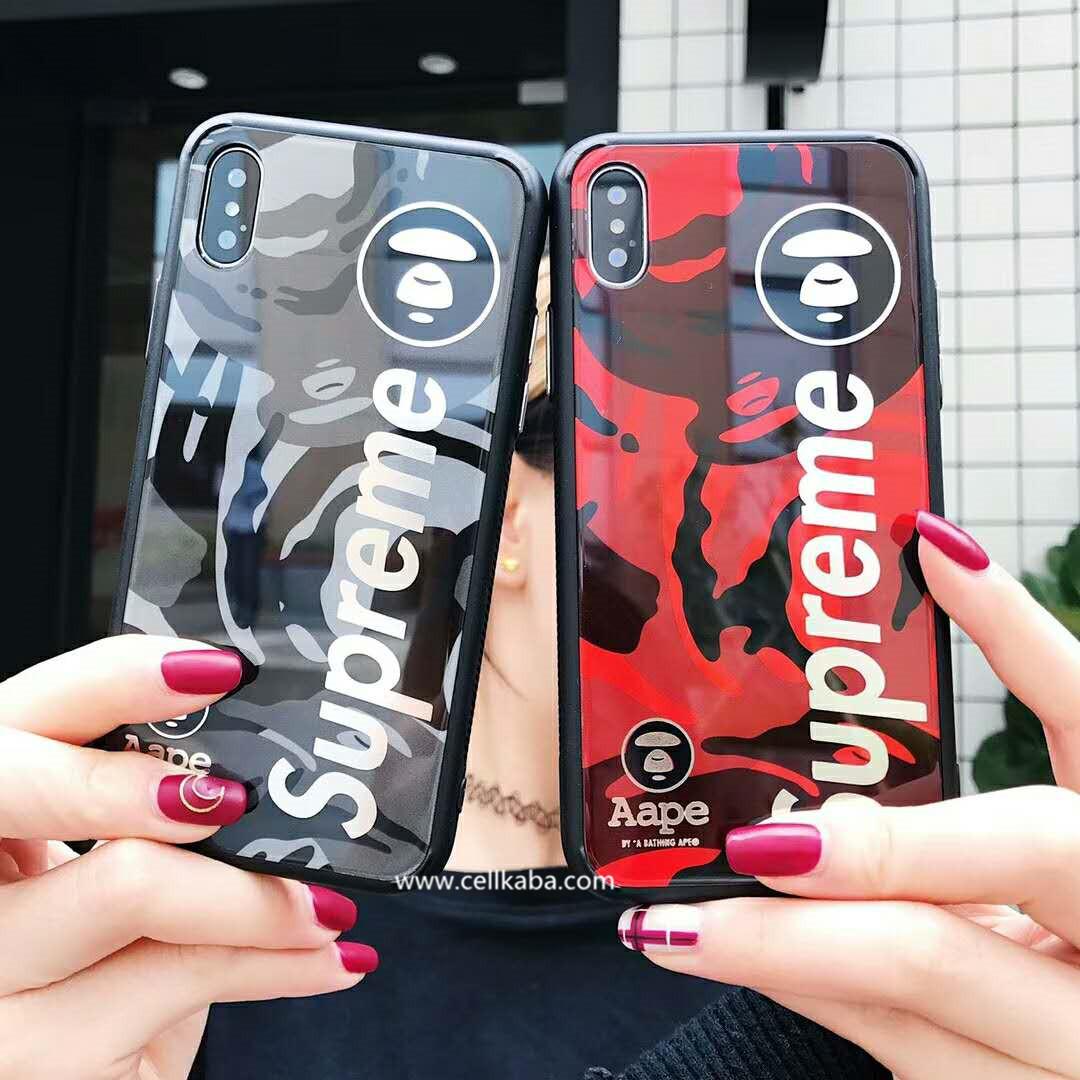 ブランドシュプリーム&AAPE コラボ作iphone10ケース、表面には光沢が満たして、滑らかな手触り。放熱効果がよく、スマートホンの薄さが無障害です。