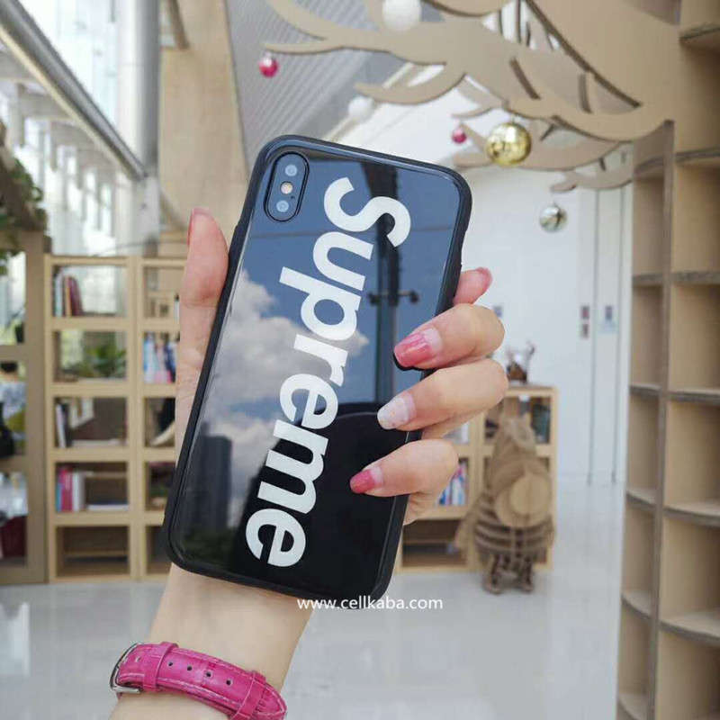 1c75e366dc00 stussy SUPREME iPhone(2018)ケース かっこいい 夜光 iphone7/8 plus ...