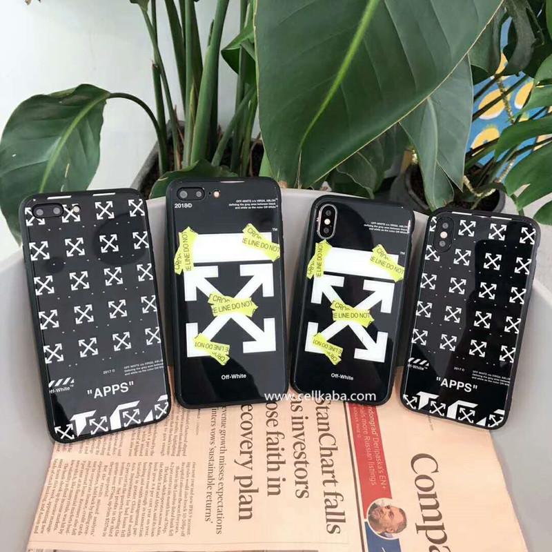 海外芸能人、セレブが愛用ストリートファションブランドOff-White iphoneXSケース、かっこいいiphone8/7 plus ケース オフホワイトは登場!カップル達の愛用なアイテム、シンプルだけと、魅力が満載です。