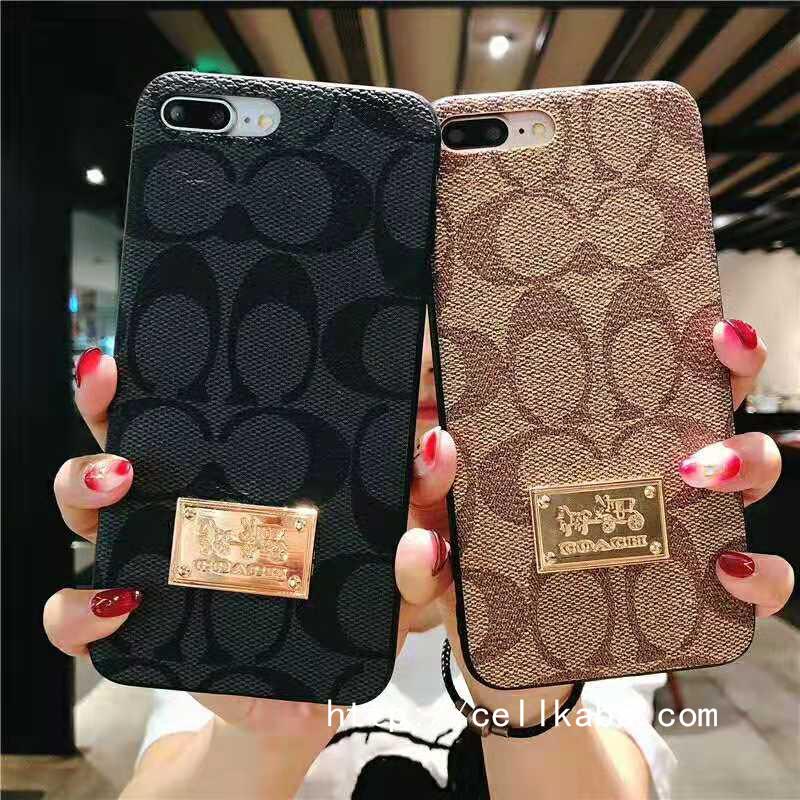 ブランドCOACH iphonexs/xrレザーケース iPhone8/7plus保護カバーおすすめ!大人らしいのデザイン、メタルロゴ付きの高級贅沢品で、全国送料無料です!