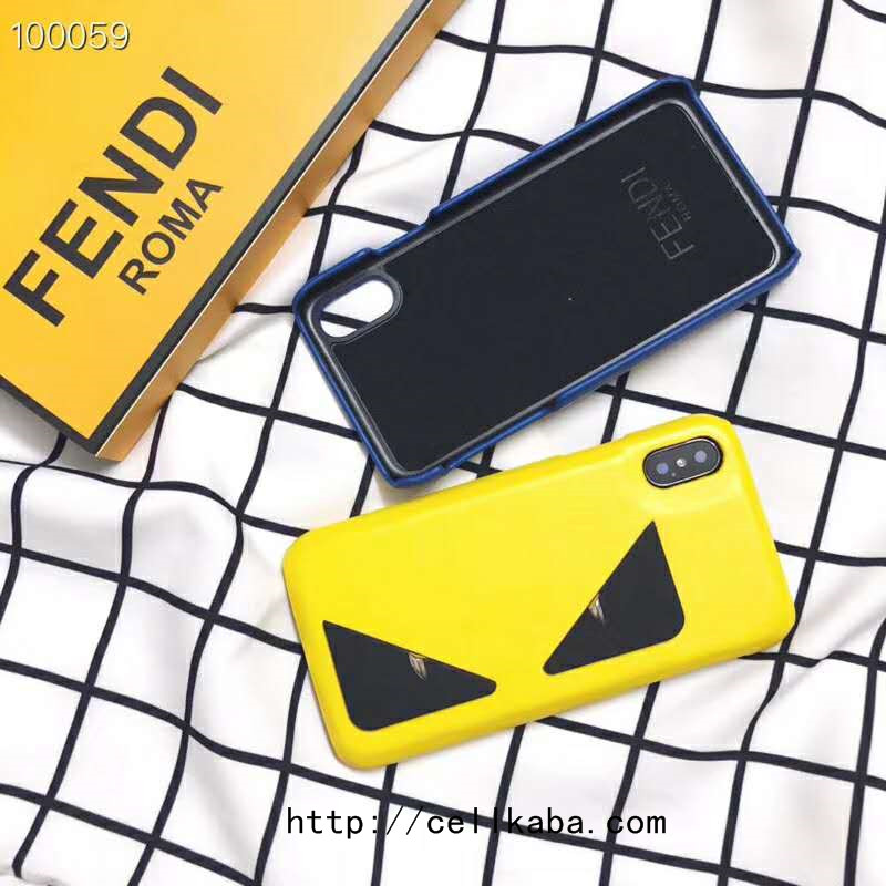 FENDI iPhone Xs Maxケース カップル用