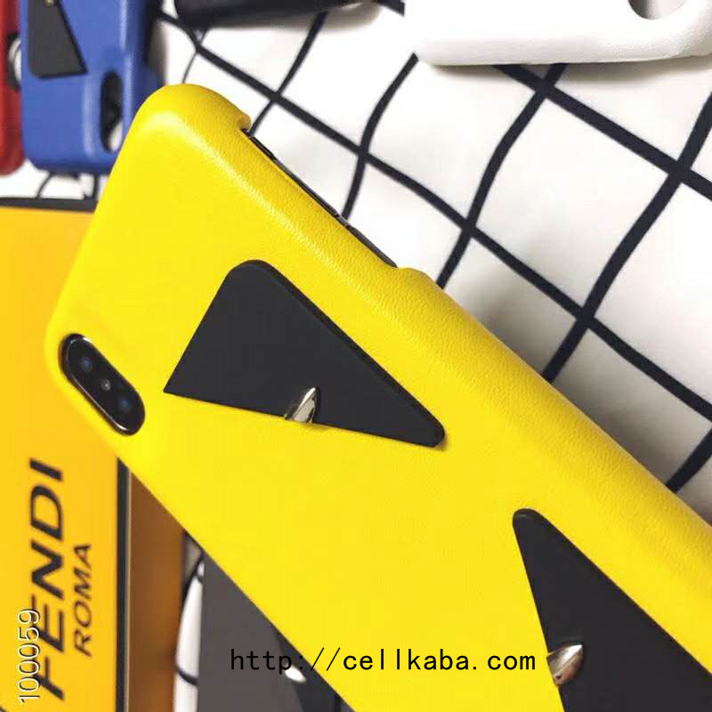 FENDI iPhone XsMaxケース 上品