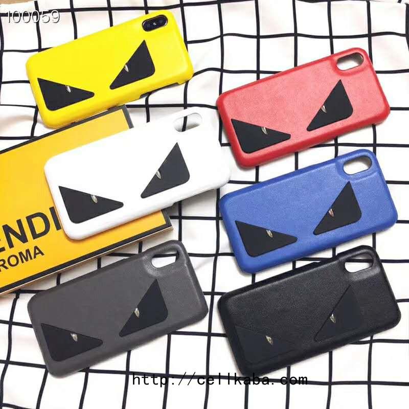 メンズとレディース愛用のシンプル風ブランドフェンディiPhoneXR/XS/XS MAX/Xケース、パロディなモンスターiphone8/7/6plusケースが個性的なデザイン、男性女性向け、送料無料。