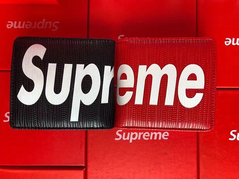 online store b3dca 1be02 シュプリーム 財布 ウォレット supreme カード収納 赤×黒 芸能人 ...
