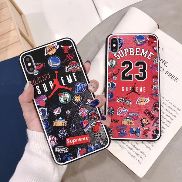 シュプリーム iphoneXRケース