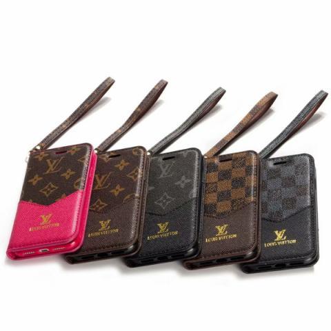 ルイヴィトン iphone11/11proケース シンプル ヴィトン iphone11pro maxケース 手帳型 ルイヴィトン iphoneXR/XS MAX/8ケース ストナップ付き