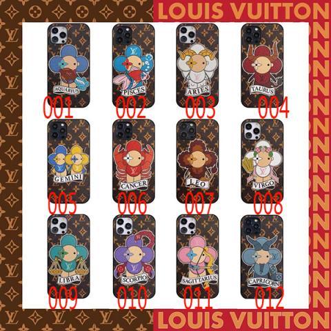 ルイヴィトン iPhone12ケース LOUIS VUITTON iPhone12pro/12mini/12pro maxカバー 可愛い 人気ブランド iphone11/11Proカバー オシャレ レザー製